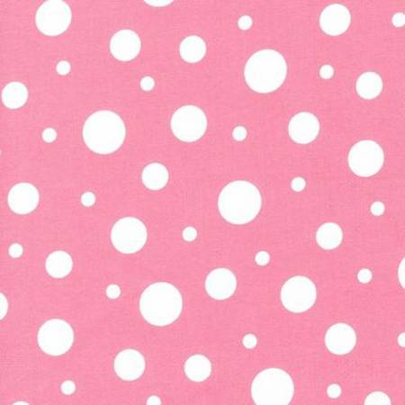 The Baby Buddy Nursing Pillow - Flannel Pink Dots