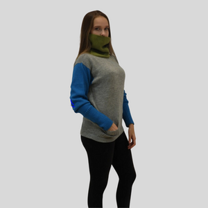 Alpaca High Neck Sweater