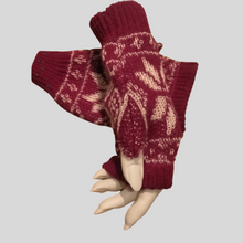 Load image into Gallery viewer, Alpaca Nordic Mittens