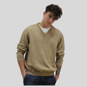 Alpaca V Neck Sweater