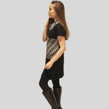 Load image into Gallery viewer, Alpaca Jacquard Bone Dress