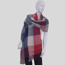 Load image into Gallery viewer, Alpaca Scottish Shawl