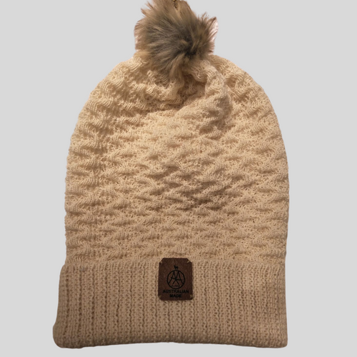 Alpaca High Relief Beanie