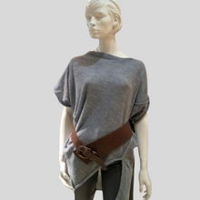 Load image into Gallery viewer, Alpaca Asymmetrical Tunic