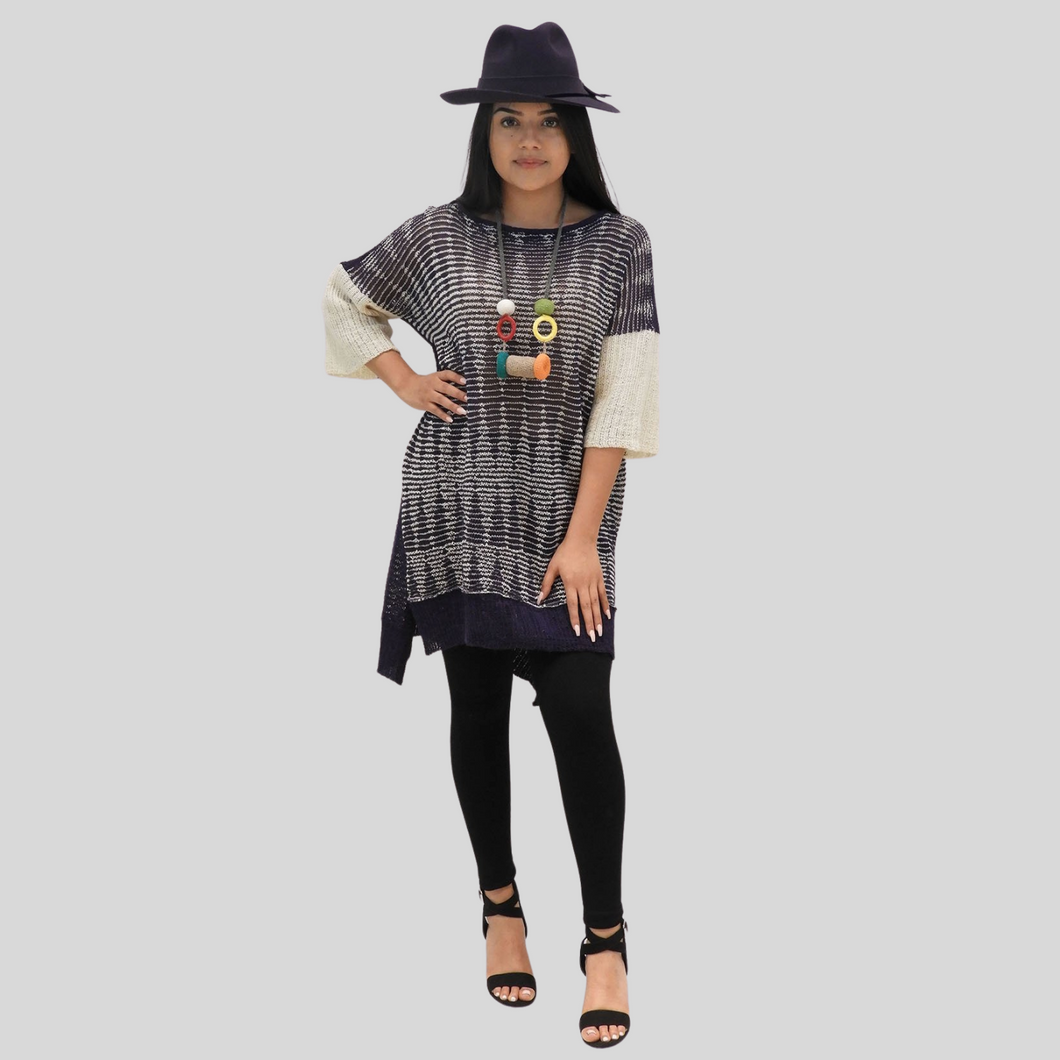 SOLD OUT Alpaca Open Knit Tunic
