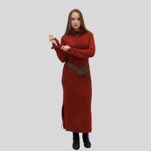 Load image into Gallery viewer, Alpaca Jacquard Long Dress
