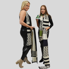 Load image into Gallery viewer, Alpaca Aboriginal Inspiration Scarf