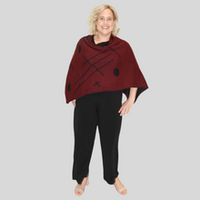 Load image into Gallery viewer, Alpaca Symmetrical Poncho