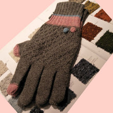 Load image into Gallery viewer, Alpaca Jacquard gloves