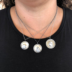 white buffalo turquoise necklaces silver