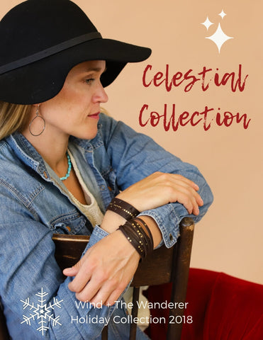 Celestial Holiday Collection 2018/19 Leather, silver, turquoise, brass