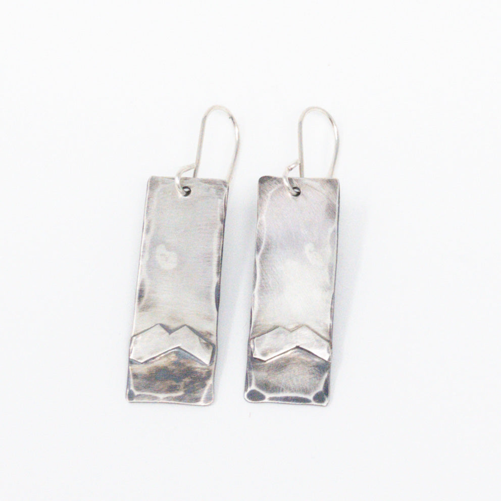 Mountain Views Earrings- Bottom