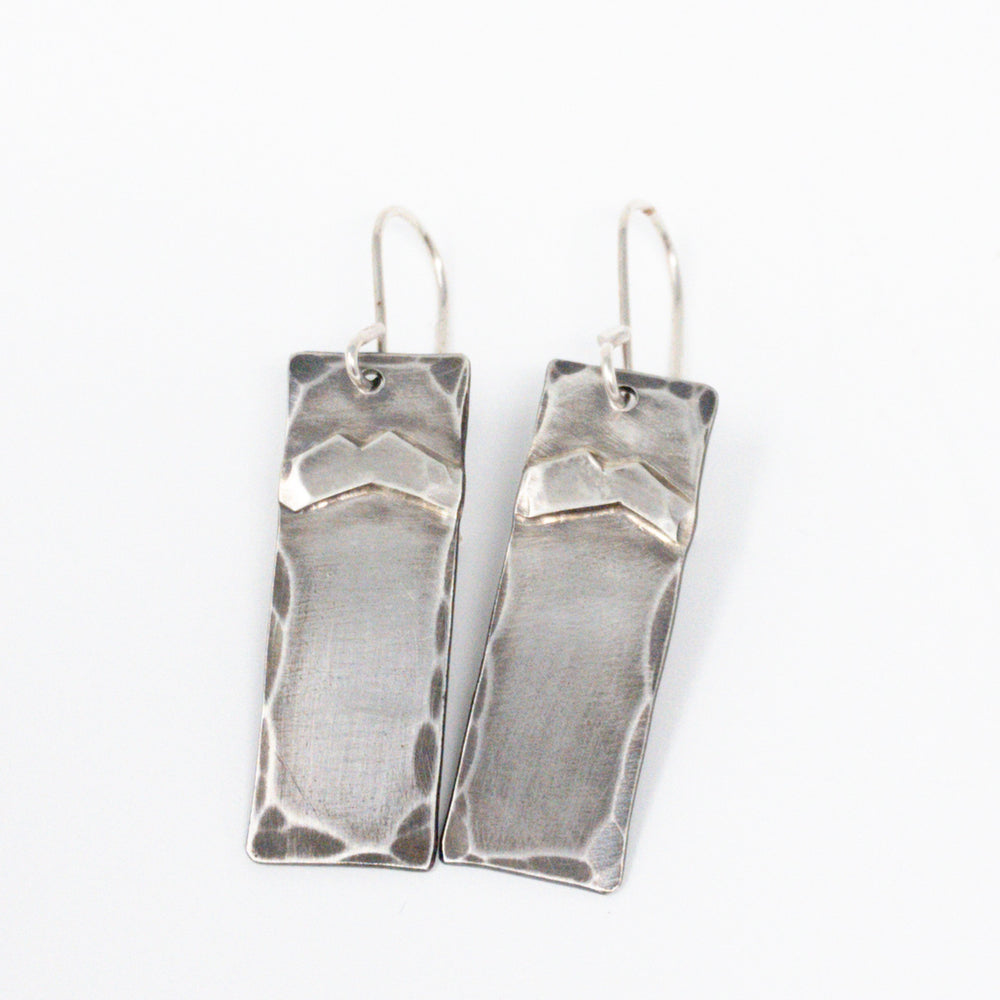 Mountain Views Earrings - Top