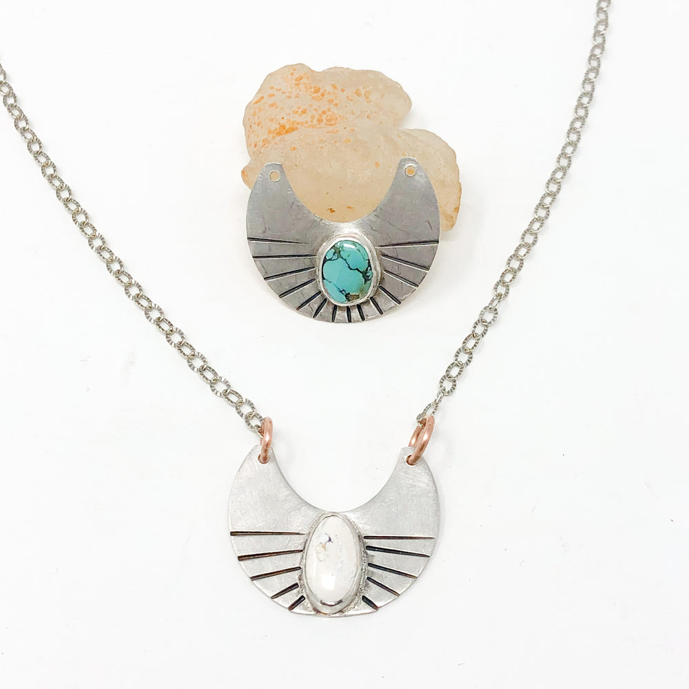 Mountain Moon Necklace - Medium