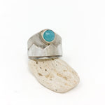 Mountain + Amazonite Statement Ring