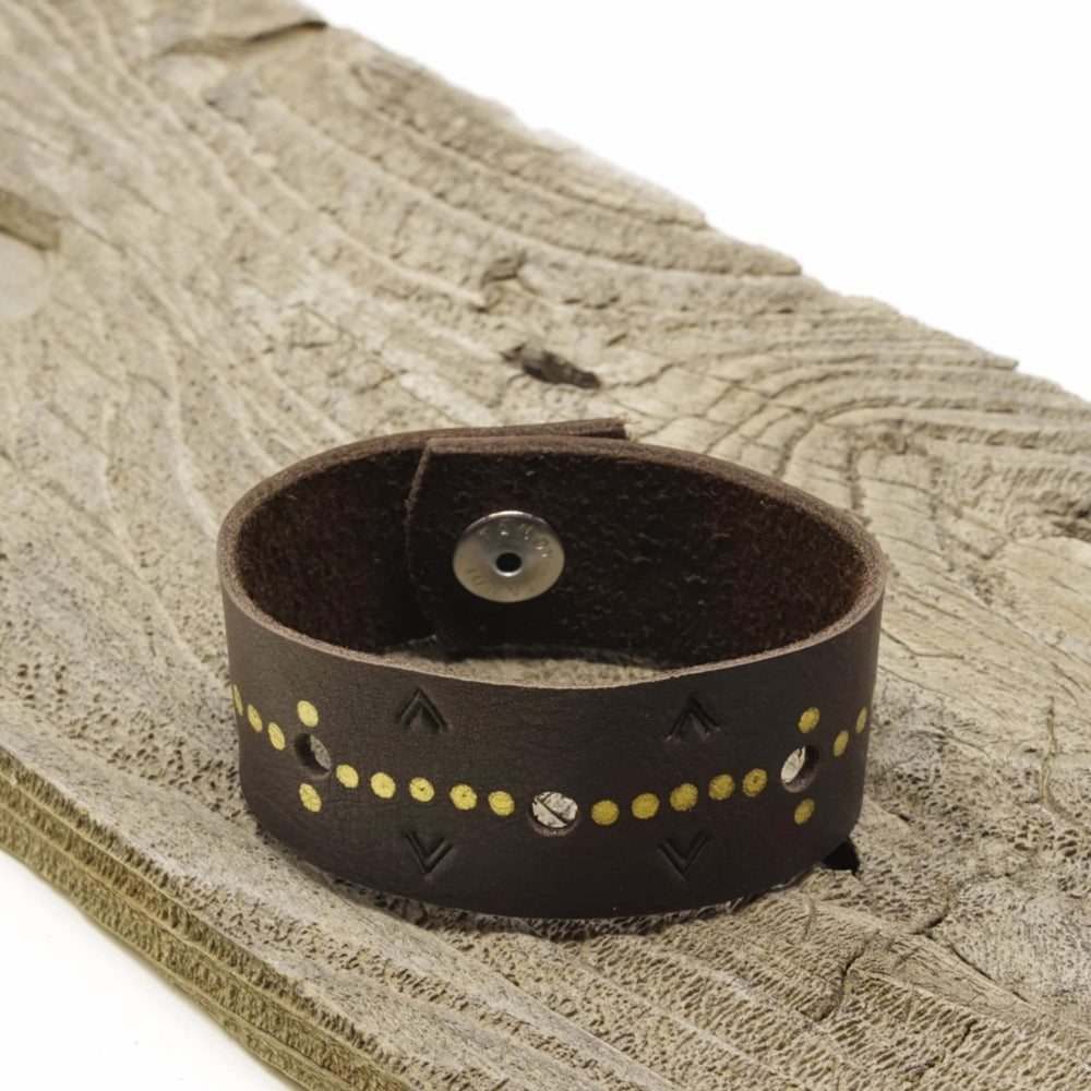 Taurus Leather Cuff Bracelet