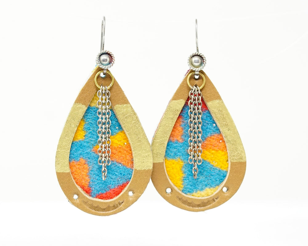 Blue Mountains Statement Earrings