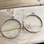 Minimal Hoop Earrings - Circle