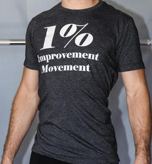 1% Improvement Movement T-Shirt