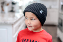 Load image into Gallery viewer, BLACK COZY BEANIE