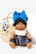 Load image into Gallery viewer, DOLL HEADWRAP SOLIDS