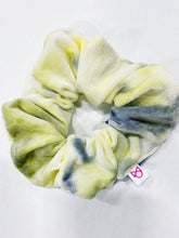 Load image into Gallery viewer, TIE DYE VELVET SCRUNCHIES