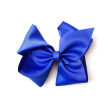 Load image into Gallery viewer, BLACK NYLON RIBBON BOW 8  INCH