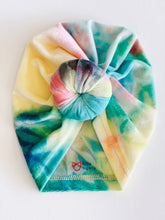 Load image into Gallery viewer, TIE DYE  VELVET TURBAN