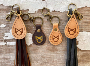 HANDSTITCHED  KEYCHAIN LITTLE LOPER'S
