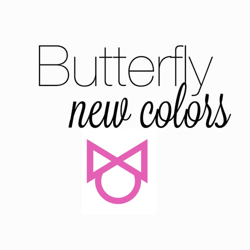 BUTTERFLY NEW COLORS BLACK NYLON