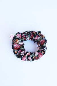 TODDLER LINEN PRINT SCRUNCHIE