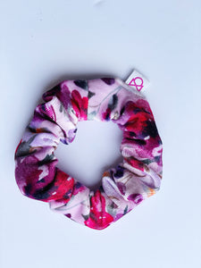 FUN PRINTS VELVET TODDLER  SCRUNCHIES