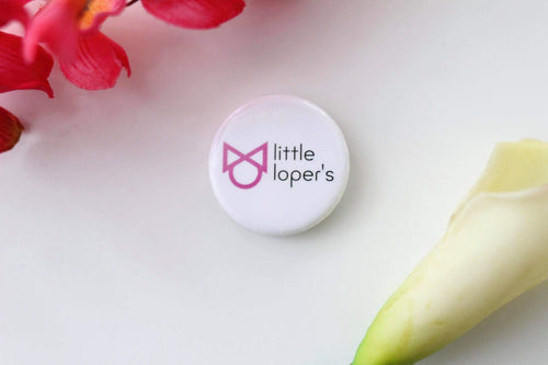 LITTLE LOPER'S ROUND  BUTTON 1.25 INCH