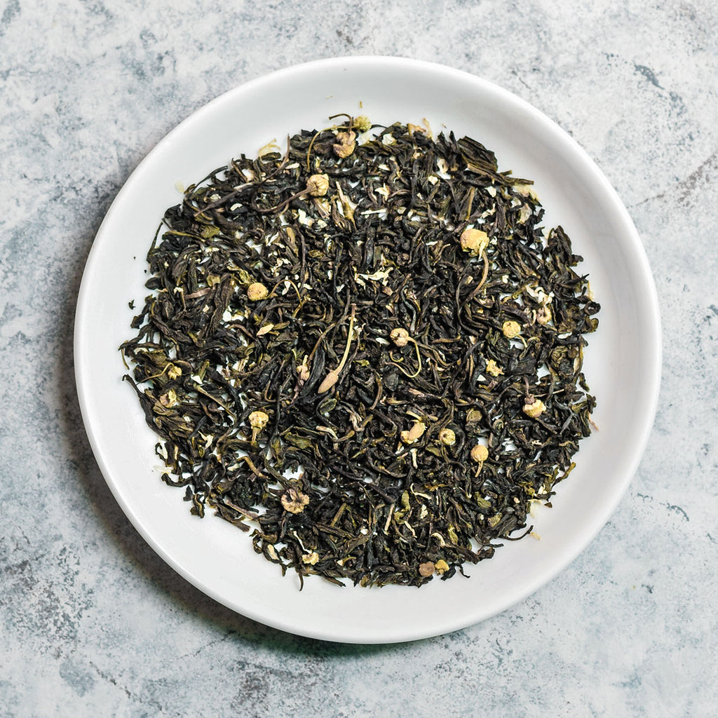 The Emerald Chamomile | Chamomile Green Tea  – The Country House Co.