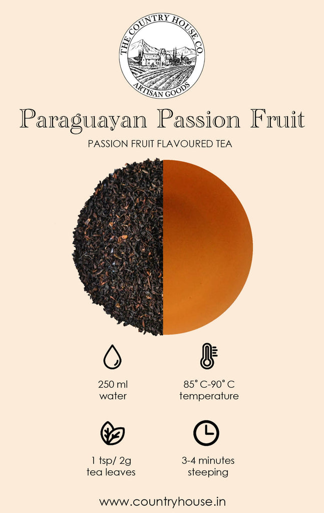 Paraguayan Passion Fruit | Passionfruit Flavoured Tea  – The Country House Co.