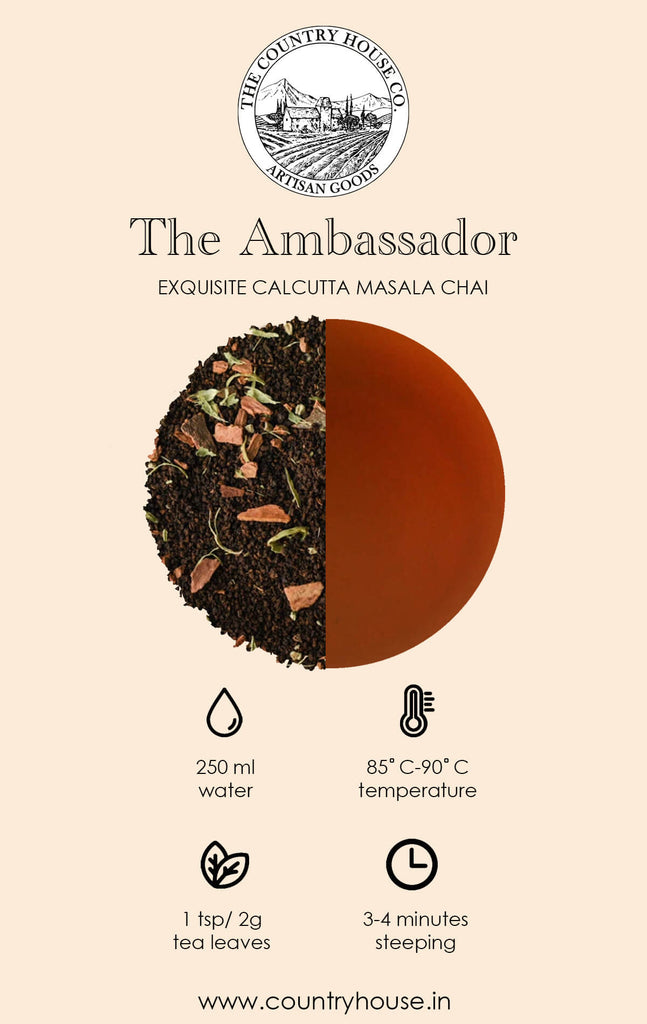 The Ambassador | Exquisite Calcutta Masala Chai - The Country House
