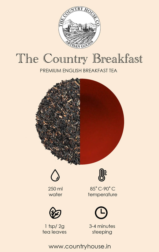 The Country Breakfast | Premium English Breakfast Tea  – The Country House Co.