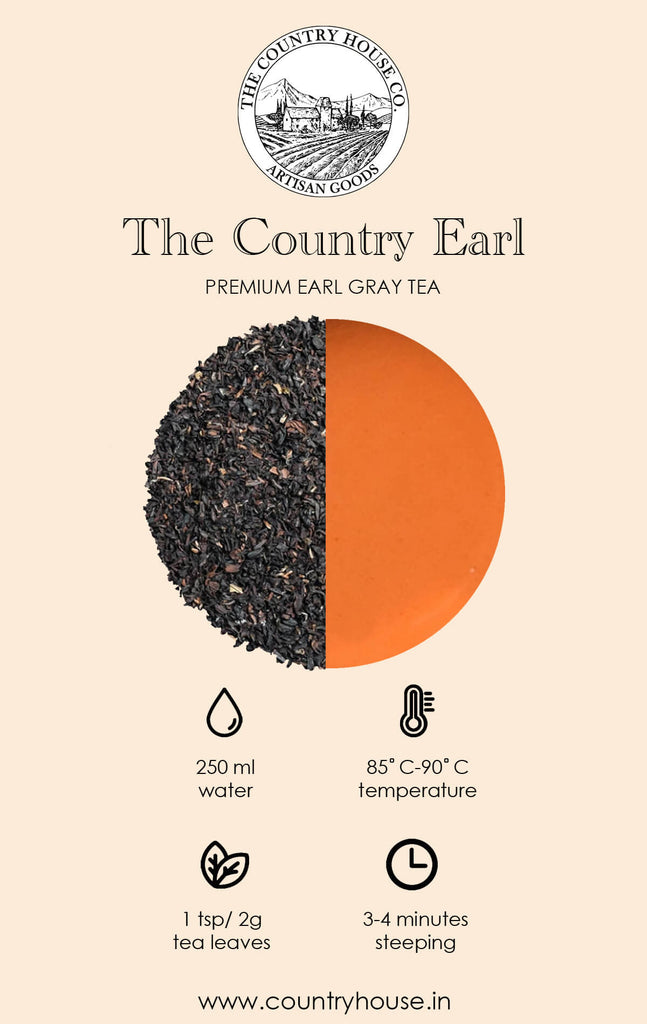 The Country Earl | Premium Earl Grey Tea  – The Country House Co.