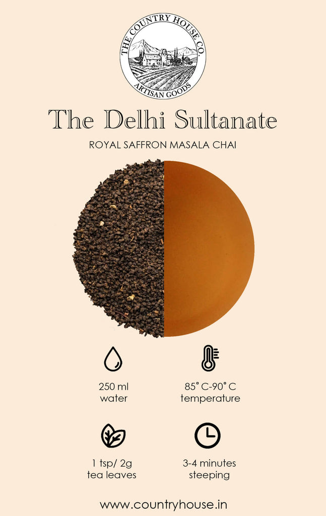 The Delhi Sultanate | Royal Saffron Masala Chai - The Country House