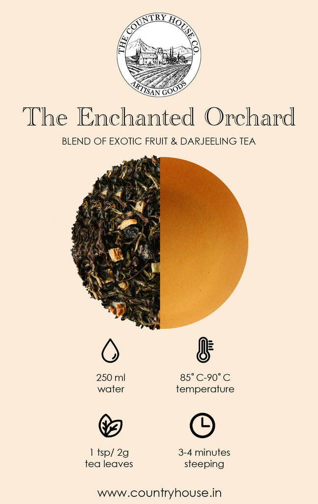 The Enchanted Orchard | Blend of Exotic Fruit & Darjeeling Tea  – The Country House Co.
