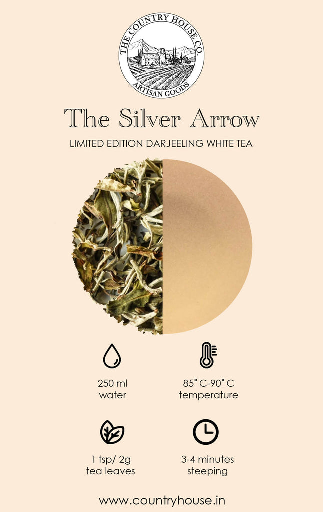 The Silver Arrow | Limited Edition Darjeeling White Tea - The Country House