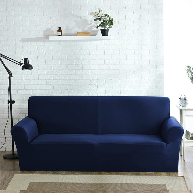 Solid Sofa Cover