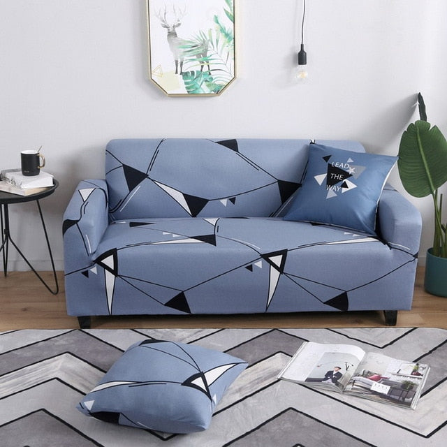 Patterned and Printed Sofa Cover