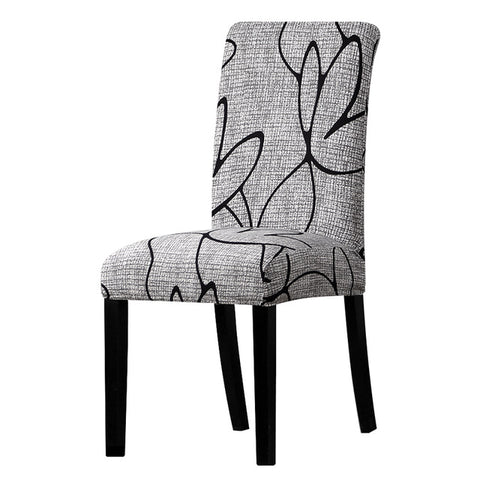 Patterned and Printed Chair Cover