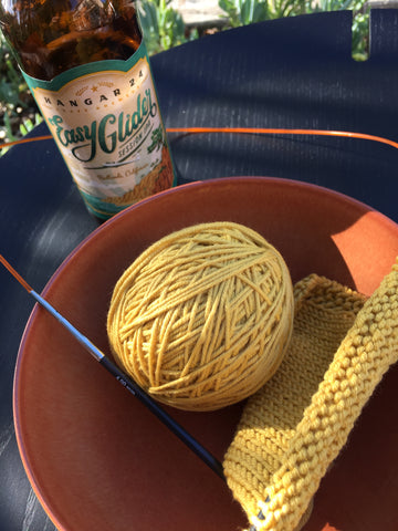 Yarn Dreams are born in the California Sunshine