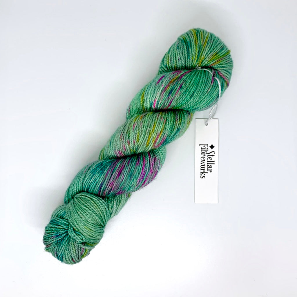 Super Duper Sock: Hand-Dyed by Stellar Fibreworks