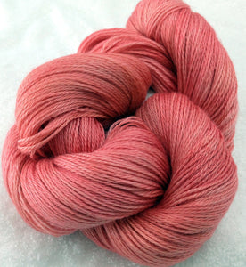 The Alpaca Yarn Company's Mariquita Hand Dyed Yarn in Peach Blossoms #551