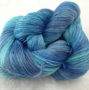 The Alpaca Yarn Company's Mariquita Hand Dyed Yarn in Kiddie Pool #552