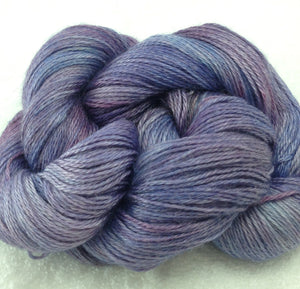 The Alpaca Yarn Company's Mariquita Hand Dyed Yarn in Crocus #553