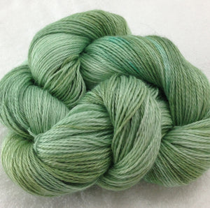 The Alpaca Yarn Company's Mariquita Hand Dyed Yarn in Spring Peepers #554